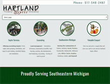 Tablet Preview of hartlandseptic.net